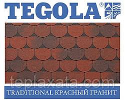 Черепиця TEGOLA (Super) Traditional Червоний граніт