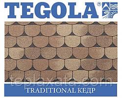Черепиця TEGOLA (Super) Traditional Кедр