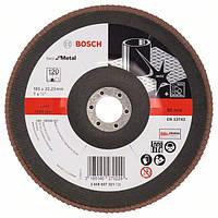 Круг лепестковый Bosch 180мм K120 Best for Metal 2608607321