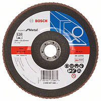 Круг лепестковый Bosch 180мм K120 Prof for Metal 2608607348