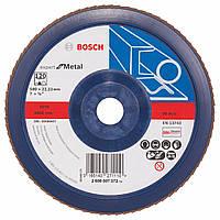 Круг лепестковый Bosch 180мм K120 Prof for Metal 2608607372, фото 1