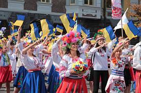 Парад вышиванок в Киеве 2015
