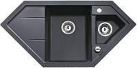 Мойка кухонная TEKA Astral 80 E-TG (чёрный металлик) (88937)
