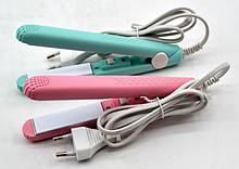 Выпрямитель, утюжок мини  для волос, Приборы для укладки волос