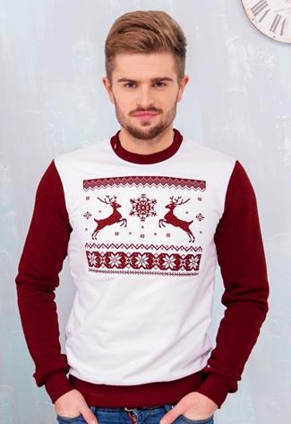 4bbdf582ffc27 Мужской рождественский свитер с оленями от Интернет-магазина ...