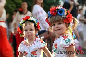 Парад вышиванок в Кременчуге