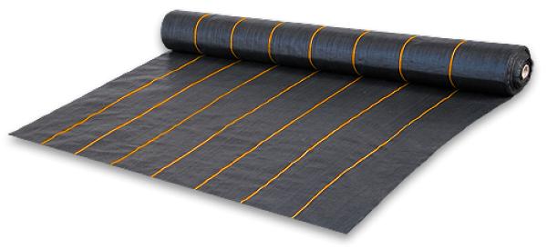 Агроткань проти бур'янів, чорна UV, 90 гр/м2 розмір 3,2 х 100м, AT9432100