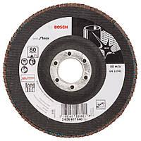 Круг лепестковый Bosch 25мм K80 B.f.Inox 2608607640, фото 1
