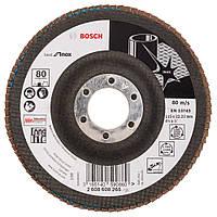 Круг лепестковый Bosch нерж. 115мм P80 B.f.Inox 2608608265, фото 1