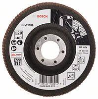 Круг лепестковый Bosch нерж. 115мм P120 B.f.Inox 2608608270