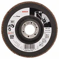 Круг лепестковый Bosch нерж. 125мм P80 B.f.Inox 2608608278