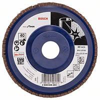 Круг лепестковый Bosch нерж. 125мм P40 B.f.Inox 2608608280