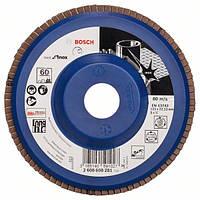 Круг лепестковый Bosch нерж. 125мм P60 B.f.Inox 2608608281