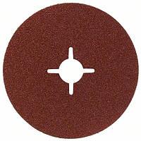 Круг шлифовальный фибровый Bosch 125мм P100 E.f.Metal 2608605478