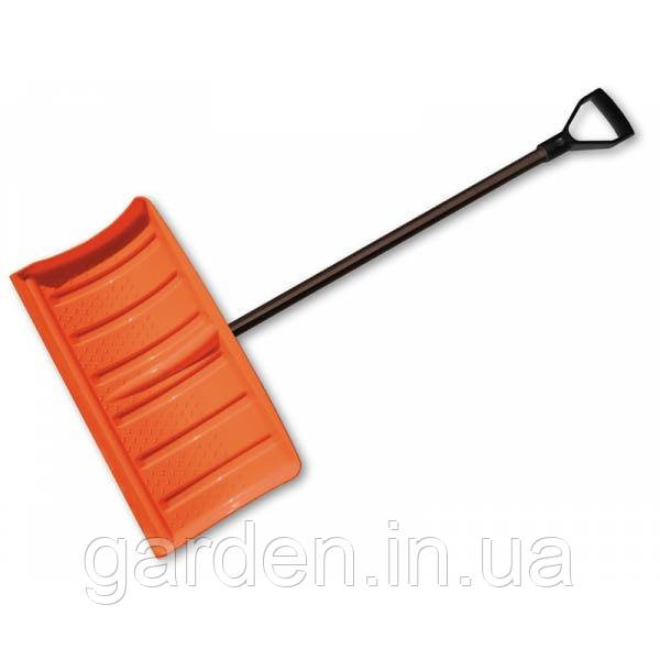 Снеговая лопата - плуг с металлической  ручкой, KT-CXG811