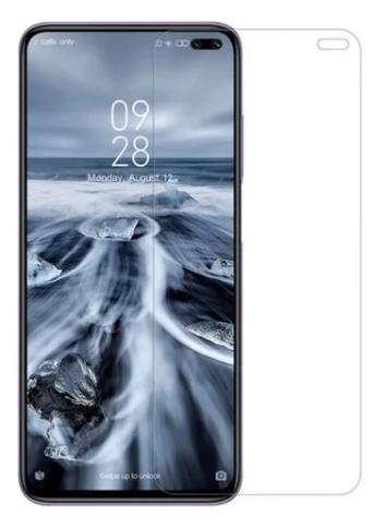 Гидрогелевая защитная пленка AURORA AAA на Xiaomi Redmi K30 на весь экран прозрачная