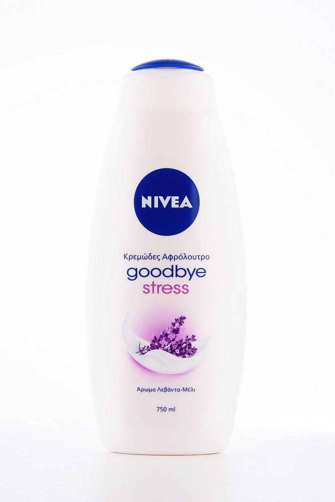 - Nivea Гель д/душу (12*750) good bye stress