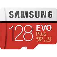 Карта пам'яті Samsung 128GB microSDXC class 10 UHS-I Plus EVO (MB-MC128HA/RU)
