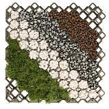 Газонна решітка для саду, MULTI GRID, сіра, KRMG40GY, фото 3