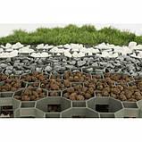 Газонна решітка для саду, MULTI GRID, сіра, KRMG40GY, фото 4