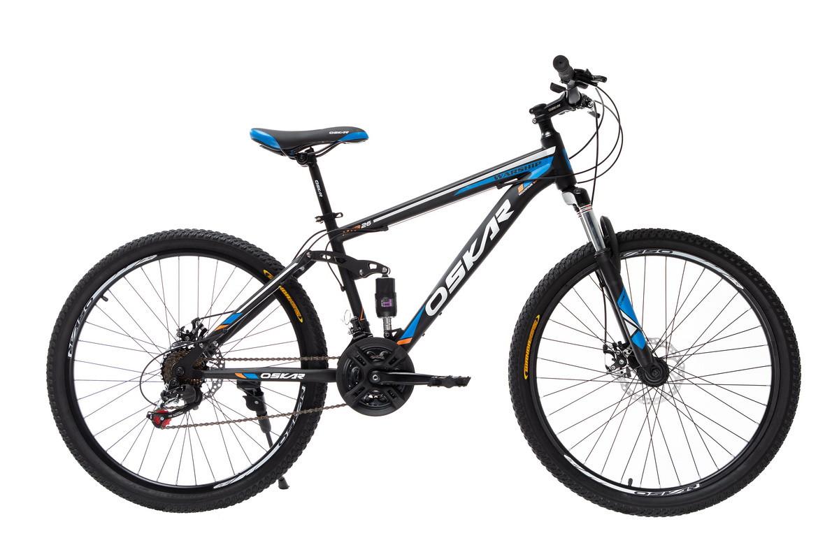 """Велосипед Oskar 26"""" WARSHIP чорно-синій (26-sus1803-bl)"""