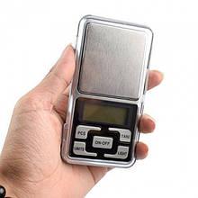 Карманные ювелирные электронные весы до 500 грамм