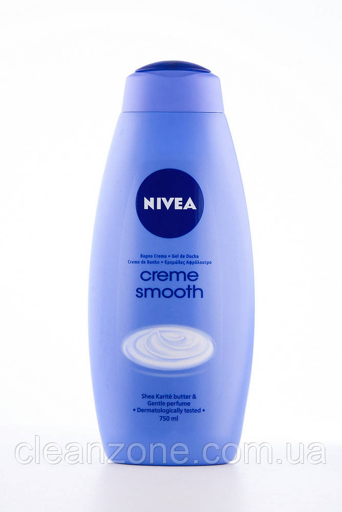 - Nivea Гель д/душу (12*750) creme smooth