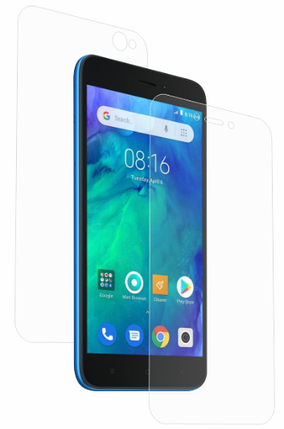 Гідрогелева захисна плівка AURORA AAA на Xiaomi Redmi Go на весь екран прозора, фото 2