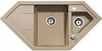 Угловая кухонная мойка TEKA Astral 80 E-TG (песочный) (88900)