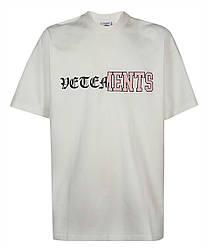 Футболка белая Vetements Double W • Ветеменс футболка мужская   женская   детская