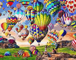 Картина по номерам VP1360 Парад шаров, 40x50 см., Babylon
