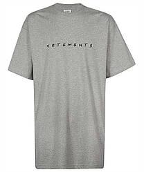 Футболка серая Vetements Friends Grey • Ветеменс футболка мужская   женская   детская