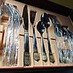 Набор столовых приборов ZEPTER (2833-12)  24 предмета с позолотой, фото 3