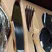 Набор столовых приборов ZEPTER (2833-12)  24 предмета с позолотой, фото 2