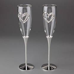 Весільні келихи Veronese 2 шт 1005G