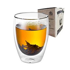 Склянку з подвійним дном 350мл