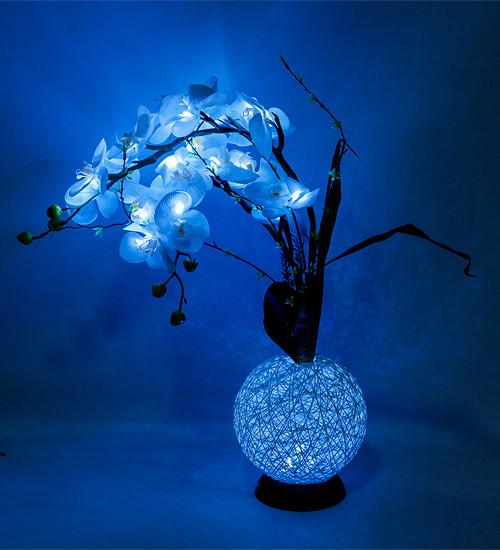 Ночник Орхидея с LED-подсветкой Bing Rong 81 см 1502480
