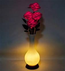 Нічник Троянди з LED-підсвічуванням Bing Rong 59 см 1502472