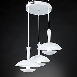Люстра подвес SLAVIA LED 10W*3 ZW011/3 (white)