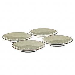 Набор тарелок Lefard 22 см 4 шт  005ALP/green