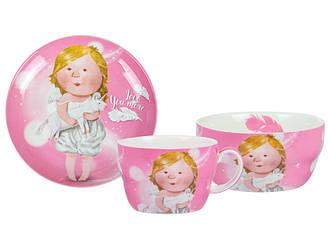 Набор детской посуды GAPCHINSKA LOVE YOU MORE 3 предмета 924-700
