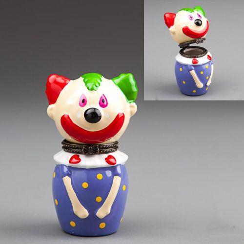 Шкатулка для украшений Клоун 9 см 015E