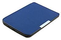 Обложка PocketBook 614 Basic 2/3 (Plus) cиняя - чехол на электронную книгу Покетбук, фото 1
