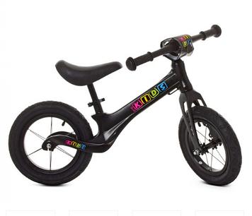"""Біговел дит. """"Profi Kids"""" 12"""" колеса гум.,алюм. обід.,магн. рама,чорний №SMG1205A-1(1)"""