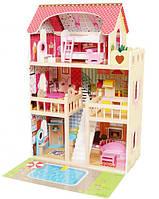 Кукольный домик игровой Avko Вилла Верона с  Led подсветкой и 2-мя куклами, фото 1