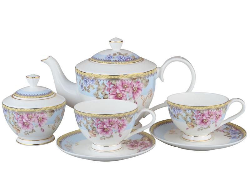 Чайный набор Lefard Мери Блю на 14 предметов 264-631