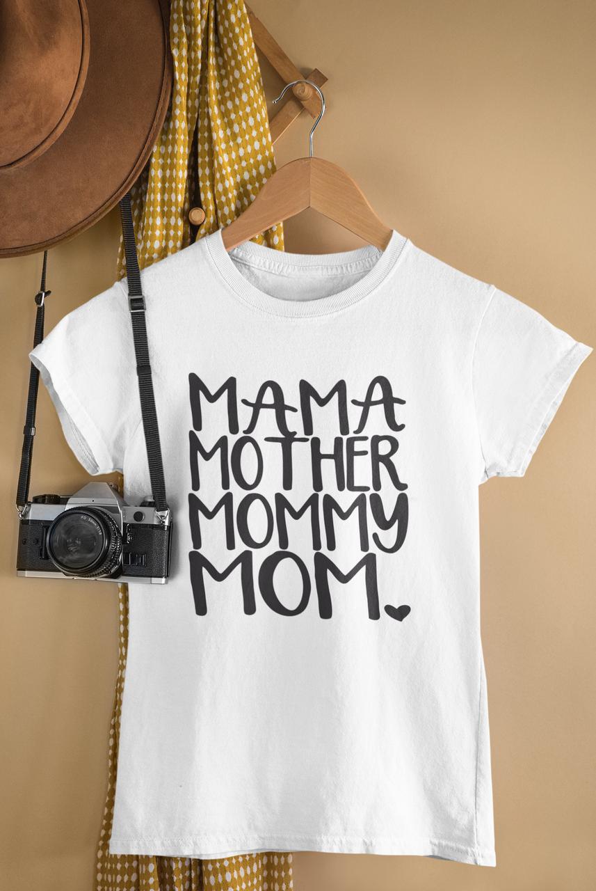 "Футболка з надписом / футболка з принтом ""Mama, mother..."""