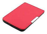 Чехол PocketBook 614 Basic 2/3 (Plus) красный - обложка для электронной книги Покетбук Басик 2/3 (Плюс)