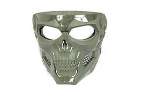 Маска Skull Messenger - olive drab [Ultimate Tactical] (для страйкбола)