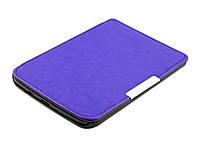 Чехол для PocketBook 614 Basic 2/3 (Plus) фиолетовый - обложка электронной книги Покетбук, фото 1